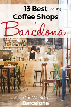 When spending One Week In in Barcelona, you need to get a good coffee, right?! As we are working location-independent, meaning, we do not have a fix office, I love to spend time in design-led cafés. And Barcelona has plenty of options to choose from here.