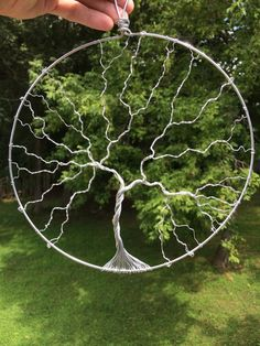 Tree of Life Wire Wall Hanging by DancingLeafTreasures on Etsy