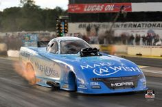 Tommy J JR Pilots the Make a wish foundation T/F Funny Car with DSR Team at BIR in Brainard MN