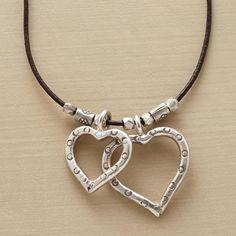 HEART & BEADS NECKLACE