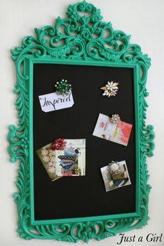 Pantone Color of the Year: Valspar Emerald Green Frame