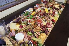 Perth events stylist reveals secrets to perfect platter Appetizers Table, Grazing Tables, Party Platters, Catering Food, Food Platters, Charcuterie Board, Antipasto, Dessert Table, Italian Recipes