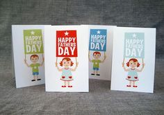 32 Free Father's Day Cards Dad Will Love: Happy Father's Day Cards and Printables at Catch My Party