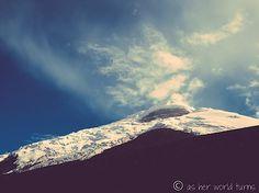 Cotopaxi Volcano in Ecuador    Read more:  http://www.asherworldturns.com/hiking-biking-cotopaxi-volcano-and-glacier/