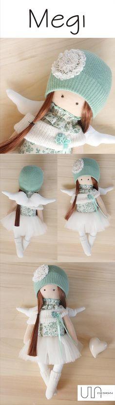 www.facebook.com/ula.design #angels #tilda #doll #wings #withangels #gift…