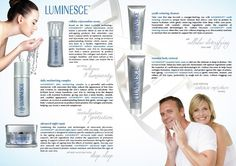 Luminesce Line of Products. For more information visit:  http://lookathereyes.com/warm/?u=2664