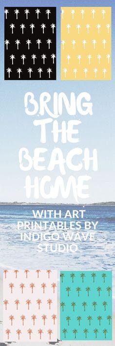 Get art printables by Indigo Wave Studio on Etsy, digital downloads, graphic design, illustration, home decor: