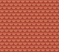 Morandi Sisters Microworld: Printable Roof Tiles - in 6 colours