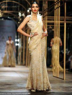 Sari by Tarun Tahiliani at India Bridal Fashion Week '13