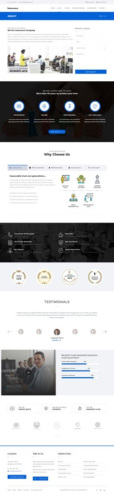 Insurance Consulting WordPress Theme