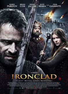 Directed by Jonathan English.  With Paul Giamatti, Jason Flemyng, Brian Cox, James Purefoy. In 13th-century England, a small group of Knights Templar fight to defend Rochester Castle against the tyrannical King John.
