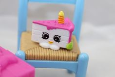 Shopkins PARTY SEASON 7-005  *Gracie Birthday Cake* Common w/box Combine Ship  #MooseToys