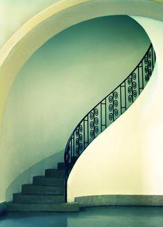 Stairway Wrought iron