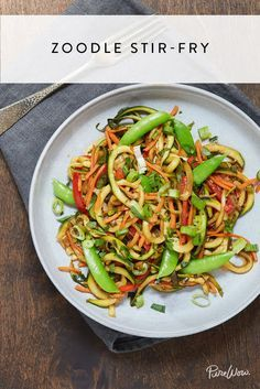 Zoodles Might Be the Best Thing to Ever Happen to Dinner via @PureWow