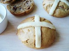 Grain free hot cross buns for Easter!