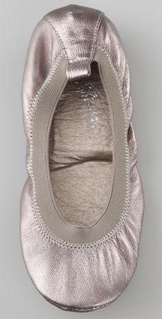 yosi samra ballet flats - pewter.