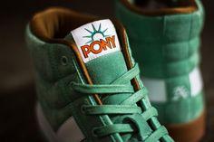 """PONY Slam Dunk Hi """"Statue of Liberty Green"""""""