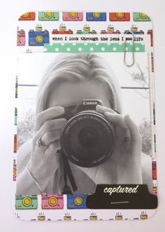 Amy Tan paper.. so much fun for your project life.. perfect for this fun shot