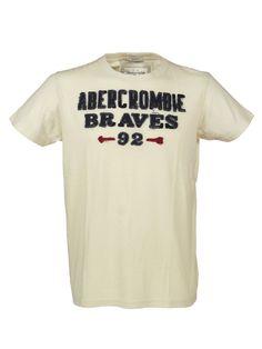 Koszulka Abercrombie & Fitch New York Tee ecru