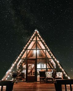 A perfect cold starry night to sip tea!it) submitted by surfinginvenice to /r/CozyPlaces 0 comments original - Architecture and Home Decor - Buildings - Bedrooms - Bathrooms - Kitchen And Living Room Interior Design Decorating Ideas - A Frame Cabin, A Frame House, Starry Night Sky, Night Skies, Lofts, Mountain Photos, Cabins In The Woods, Christmas Wallpaper, Cool Wallpaper