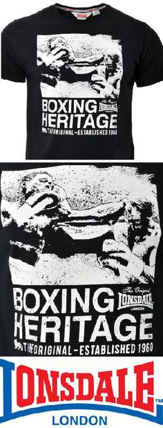 Camiseta - LONSDALE - Boxing Heritage. 21,90 euros. Pedidos y +600 modelos disponibles: www.barrio-obrero.com  -SKINHEAD MAILORDER- we serve orders to all countries