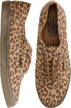 leopard print shoes!