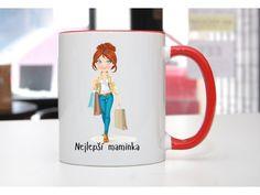 Hrnek Nejlepší moderní maminka - POTISKNUTO Pavlova, Mugs, Tableware, Dinnerware, Tumblers, Tablewares, Mug, Dishes, Place Settings