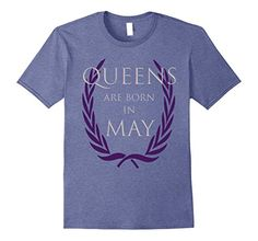 Men's Queens are born in May 3XL Heather Blue Boonie Shirts https://www.amazon.com/dp/B072PCRV42/ref=cm_sw_r_pi_dp_x_qRIezb36G889T