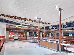 Airport Terminal Light Fixtures | Accoya – Acetylated Wood