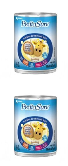 Pediasure - Nutritional Drink - 8 oz Ready-to-Drink - Cans - Banana Cream - Case of 24