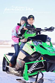 winter/snowmobile engagement photography. These WILL be my engagement photos...awesome sled too!