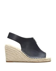 c4802b50aa WOOLIES SHOES · Everly Leather Espadrille Wedge Leather Espadrilles, Espadrille  Wedge, Wedges, Platform Pumps, Wedge