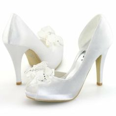 Shoezy Womens Crystal Stiletto Wedding