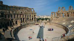 El Djem amphitheatre, Tunisia via firstchoice.co.uk