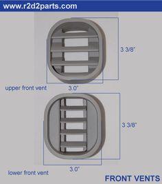 R2 D2 front vents