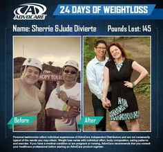 Transformation Story- AdvoCare Works! What are you waiting for?   #AdvoCarePin2013 www.advocare.com/120723052
