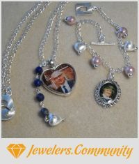 EDITOR'S CHOICE (07/27/2015) Personalised Jewellery by Brandswife Creations View details here: http://jewelers.community/creations/2213-personalised-jewellery