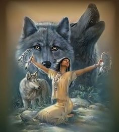 Indian Wolf Photo: This Photo was uploaded by Dangerous_Girl_Who_Kills. Find other Indian Wolf pictures and photos or upload your own with Photobucket f. Native American Wolf, Native American Pictures, Native American Beauty, American Indian Art, Native American History, American Indians, Native American Artwork, American Photo, American Story