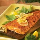 Try the Cedar-Planked Salmon with Seasoned Lemon Butter Recipe on williams-sonoma.com/