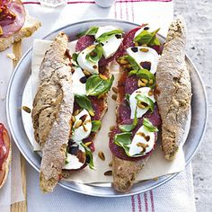 Recept - Broodje ossenworst-�mozzarella - Allerhande