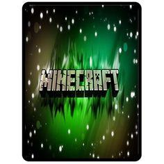 Fleece Blanket - New Minecraft Creeper Games Large Fleece Blanket Pre Gift 05