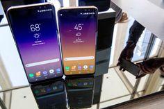 Samsung Galaxy S8: Sicherheitsforscher trickst Iris-Erkennung aus: Gerade erst hat Samsung sein neues Flaggschiff-Handy Galaxy S8…