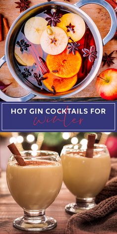 Stay cosy this winter with a warming gin drink - here are some of our favourite recipes for hot gin that are quick and easy to make at home, and are a great alternative to your usual mulled wine or hot toddy! Drinks Hot Gin Cocktails for Winter Gin Drink Recipes, Gin Cocktail Recipes, Yummy Drinks, Winter Cocktails, Fun Cocktails, Pina Colada, Toddy Recipe, Craft Gin, Vanilla Milkshake