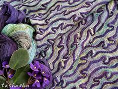 Ravelry: Scarf Tango in Paris pattern by Svetlana Gordon