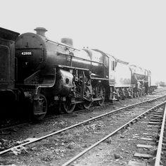42800: LMS Hughes Crab 2-6-0. Photo by Geoff Bannister Diesel, Electric, Steam Railway, Bannister, Steam Engine, Steam Locomotive, Crabs, Sheds, American
