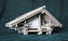 Architectural Model / Sculpture of a Play House for by Konokopia