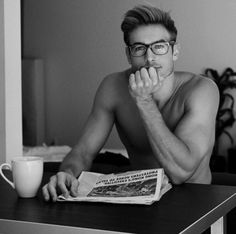 I think I have this weird fetish for guys with glasses........ Oh well