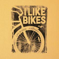 Women's I Like Bikes Go-To Crew Sweatshirt