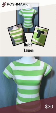 Ralph Lauren beautiful green shirt, Med Very Cute and Comfy Ralph Lauren shirt, please feel free to ask me any questions, and reasonable offer accepted, so ask away Ralph Lauren Black Label Tops