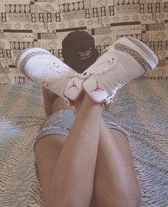 #girls #sneakers #airjordan #nike #airjordan3 #whitecement   Love this pair!